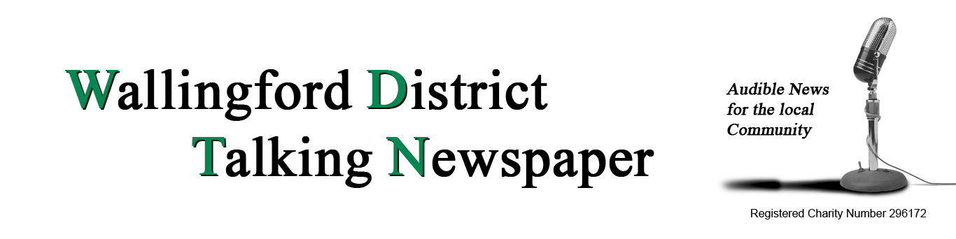 Wallingford District Talking Newspaper, Audible News for the local Community